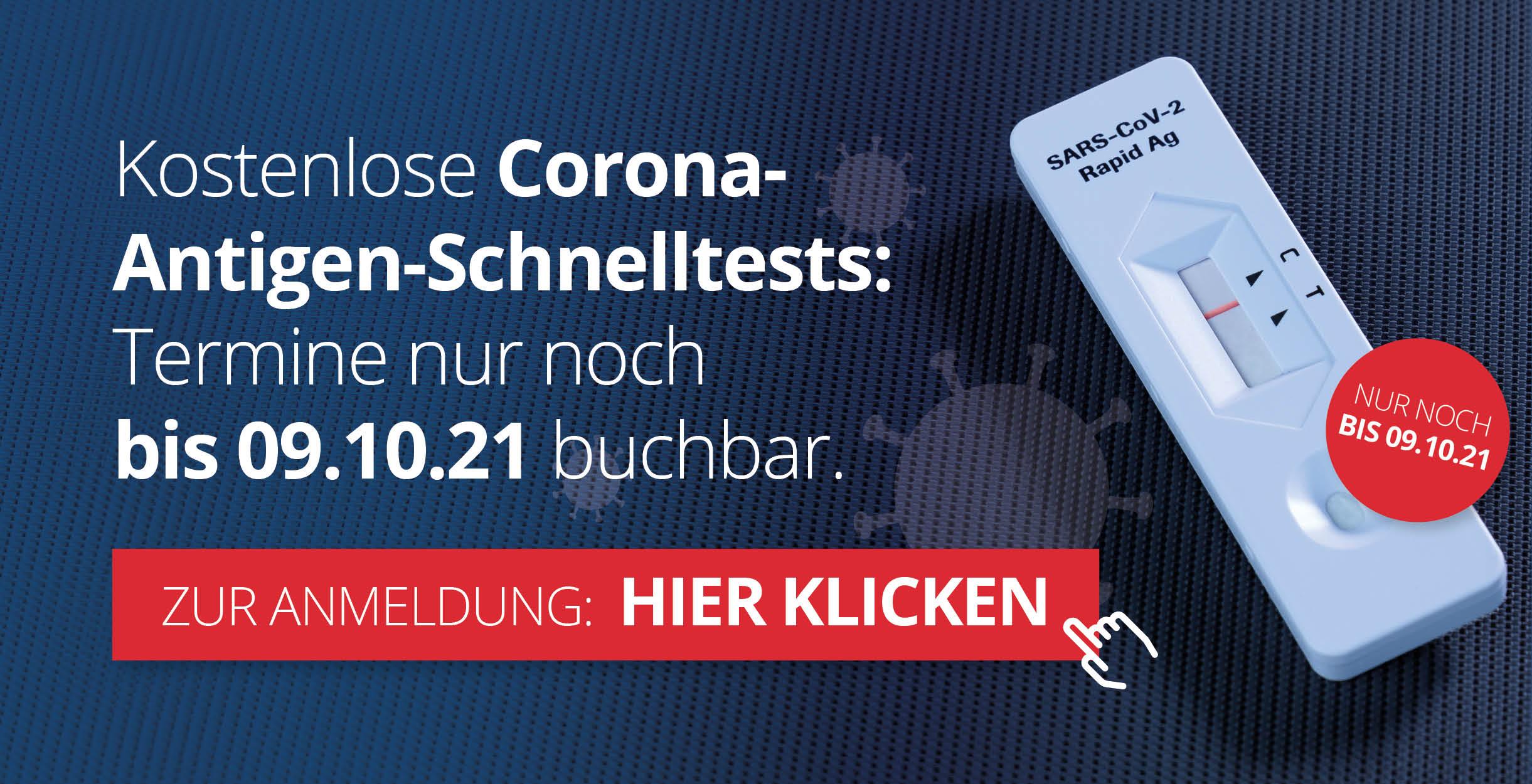 Niemanns Apotheken – Corona-Schnelltest Service